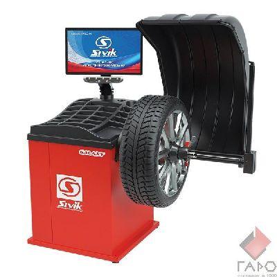 Стенд для балансировки колес GALAXY СБМП-60/3D