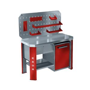Металлический верстак однотумбовый ГЕФЕСТ-ВС-01 ЭП