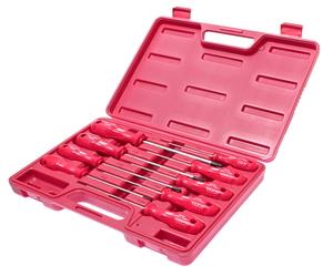 Набор ключей TORX T8Нх100мм-Т40Hх150мм Г-образных 9 предметов JTC-3925