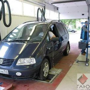 Линия технического контроля легковых автомобилей ЛТК-4Л-СП-11