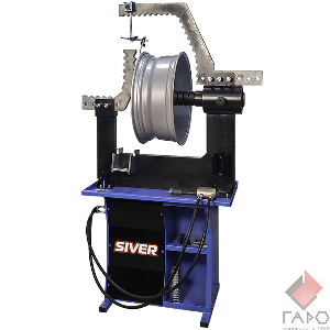 Стенд для правки литых и кованных дисков Siver RR 14S