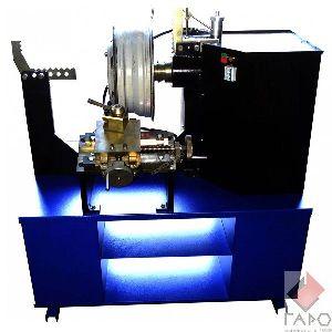 Станок для правки литых дисков с электрической гидравликой c токарной группой (электропривод вала) StrongBEL 21LE